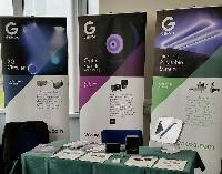 Gencoa exhibition stand