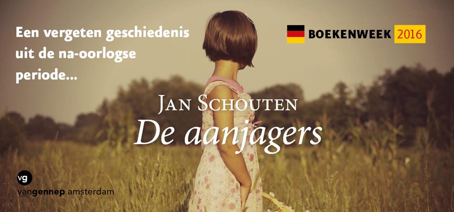 Boekenweekbanner De aanjagers | Jan Schouten