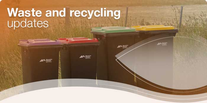 New bin service starts next week - banner
