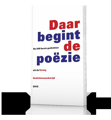 Book Turing Gedichtenwedstrijd 2013