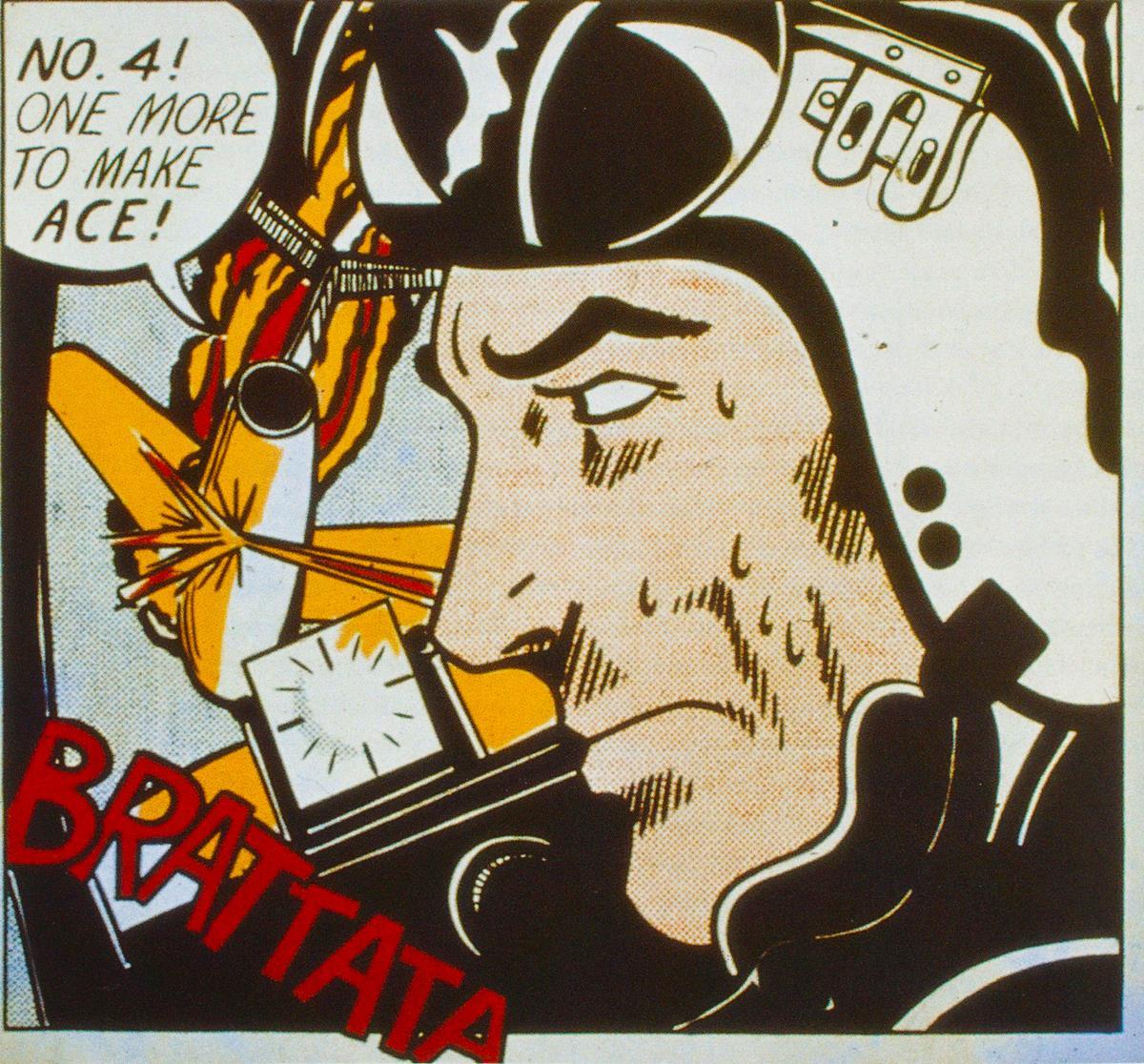 Brattata. Roy Lichtenstein.