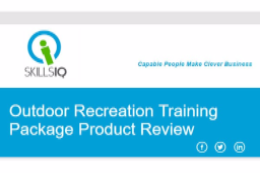 Outdoor Rec. Training Package Review