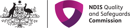 Image of the NDIS Quality and Safeguards Commission Logo
