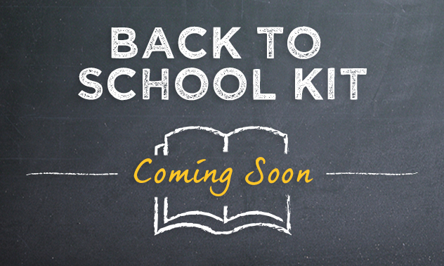 The Back to School Kit is coming soon