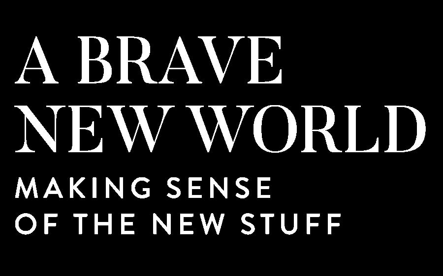 A Brave New World: Making Sense of the New Stuff