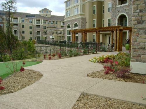 Walkway by ATD Concrete Coatings