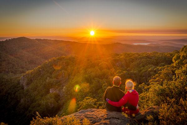 Mt Kaputar Sunrise by Steffen Bollmann