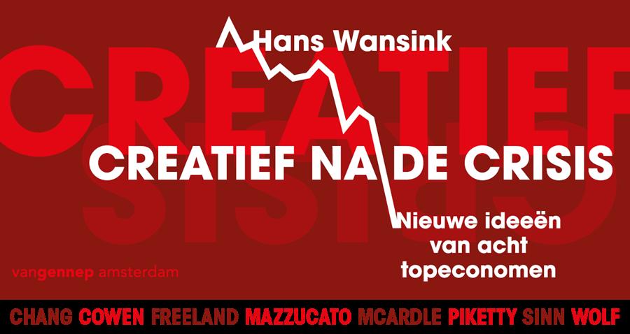 banner Creatief na de crisis | Wansink