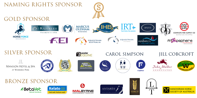 P.S.I. Dressage & Jumping with the Stars 2019 Sponsors