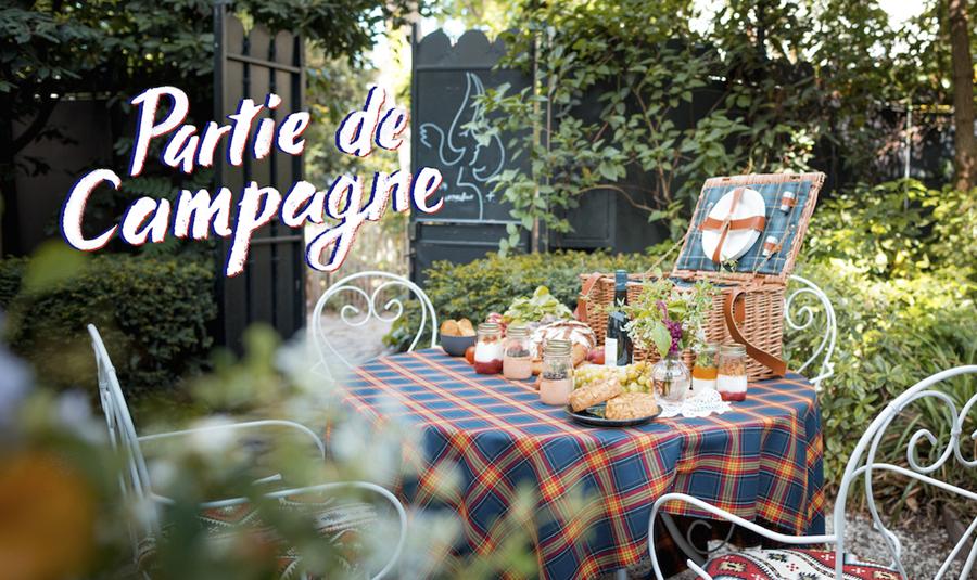 Partie de Campagne, les piques niques de l'Hôtel Particulier Montmartre ©Silvere Koulouris