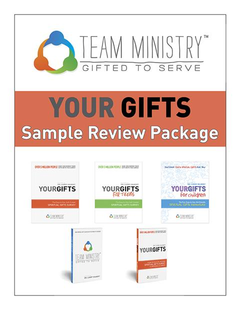 Team Ministry Your Gifts Sample Review Package