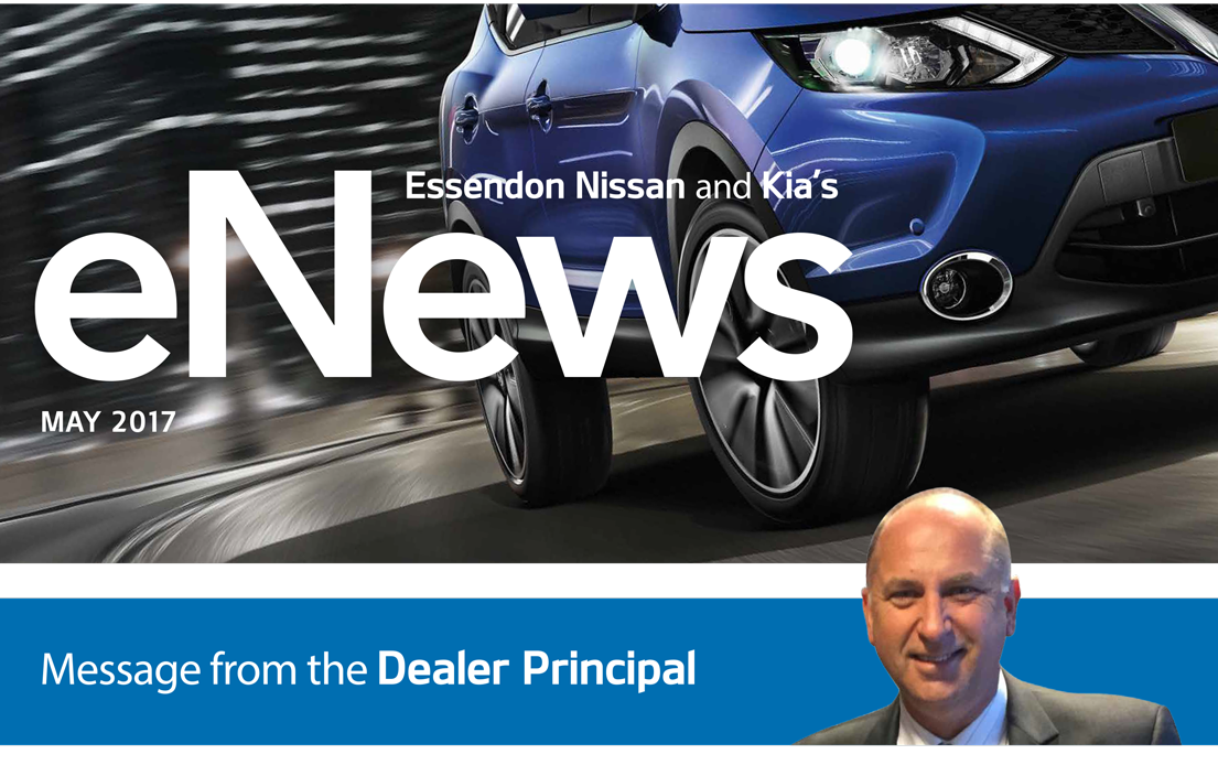 Essendon Nissan and Kia's eNews