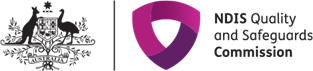NDIS Quality and Safeguards Commission Logo