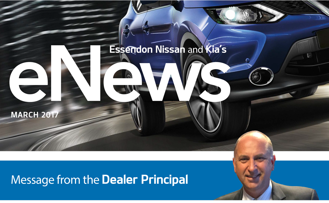 Essendon Nissan and Kia's eNews