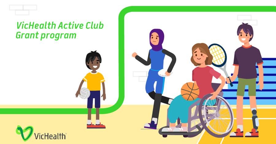 VicHealth Active Club Grant Program