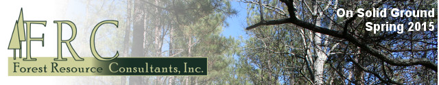 Forest Resource Consultants, Inc. On Solid Ground Spring 2015