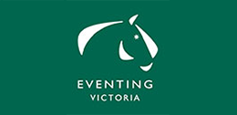 Eventing Victoria logo linked to report