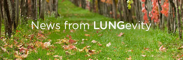 News from LUNGevity