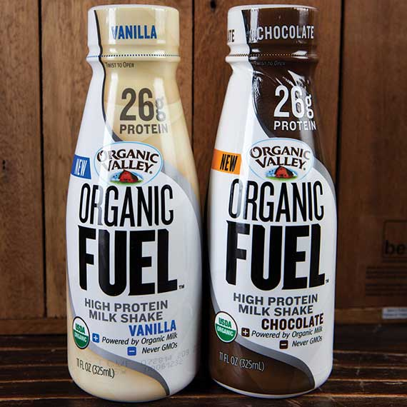Organic Valley protein shakes