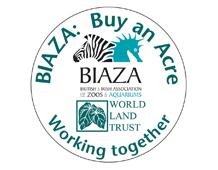 BIAZA-WLT Working Together logo.