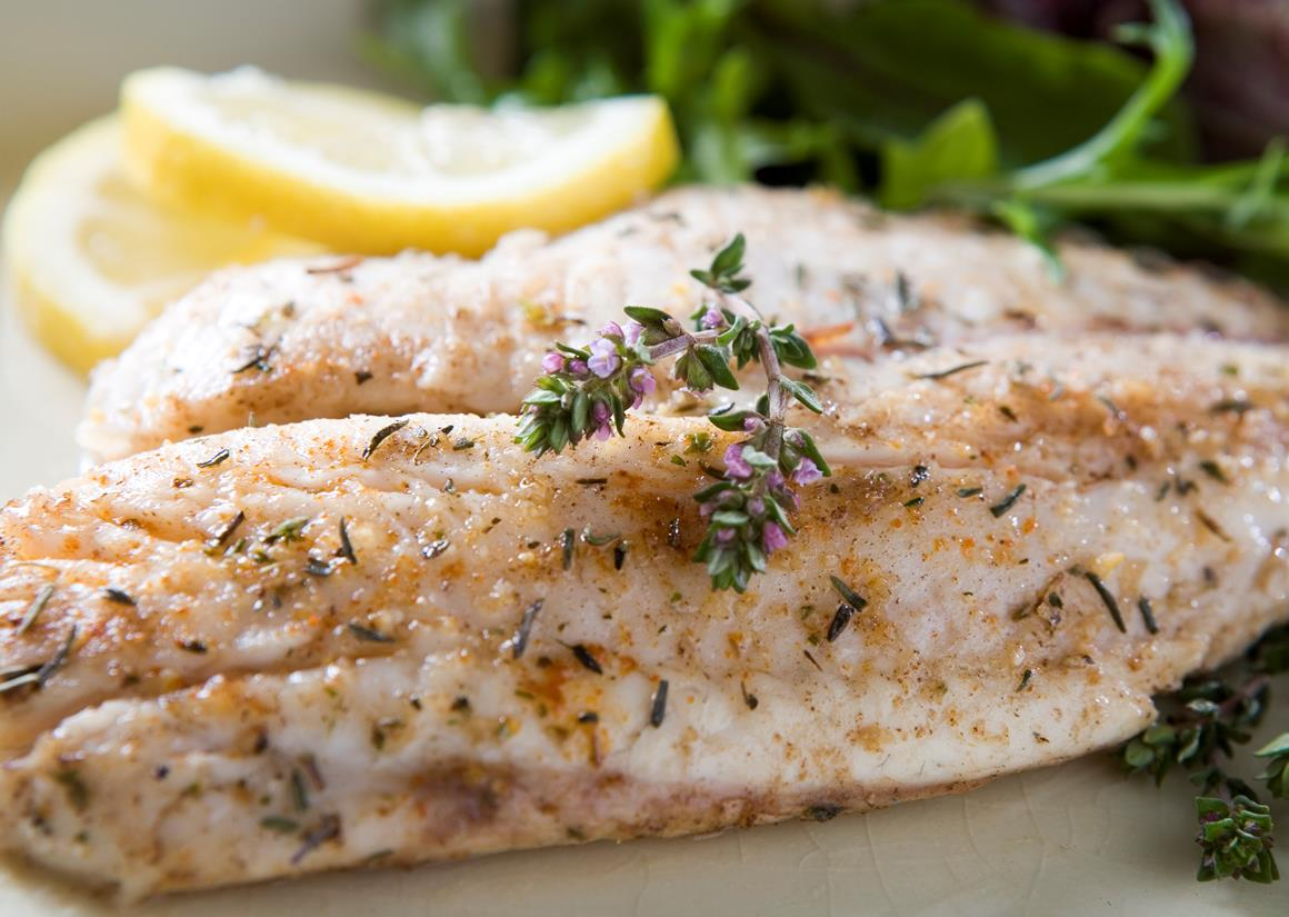 Tilapia fillet with rosemary