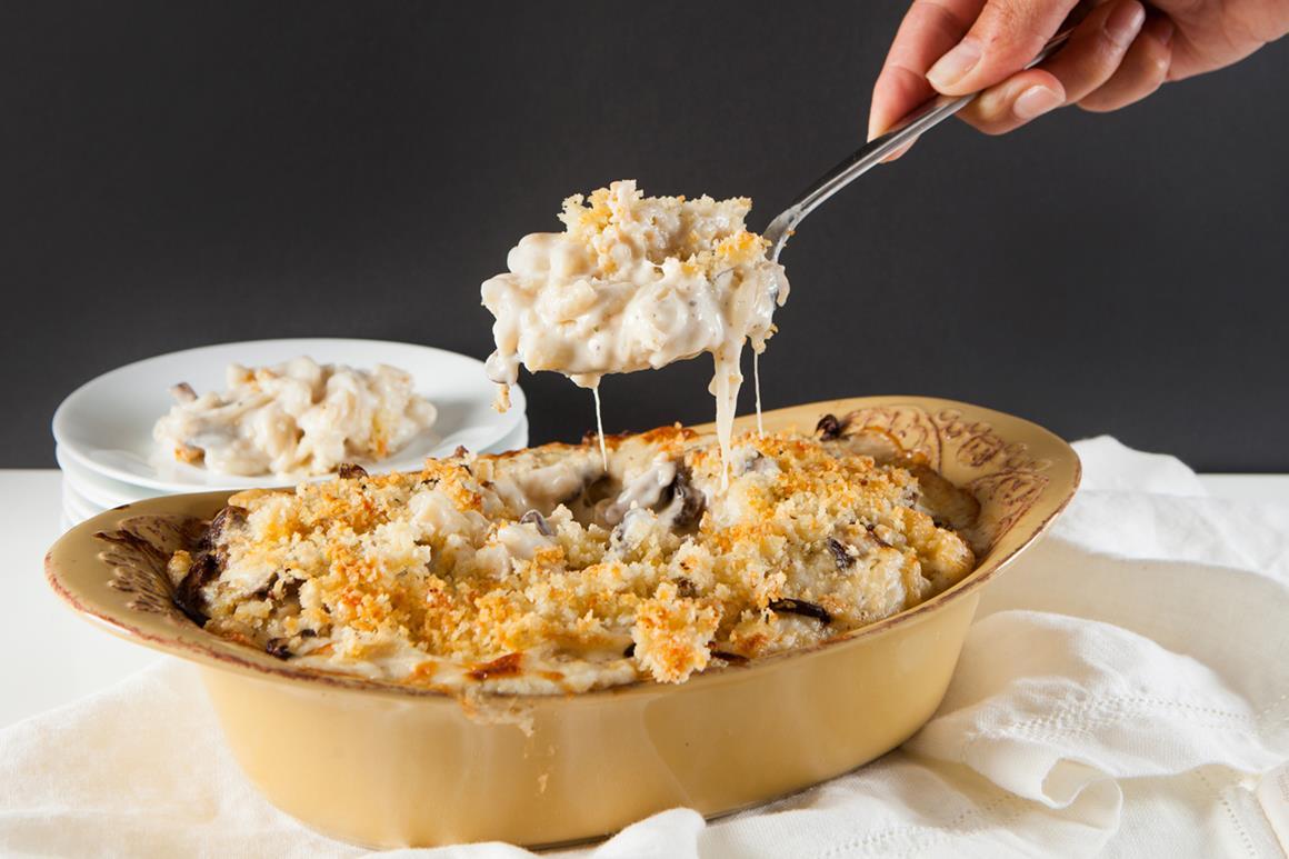 Wild Truffle Mushroom Mac & Cheese