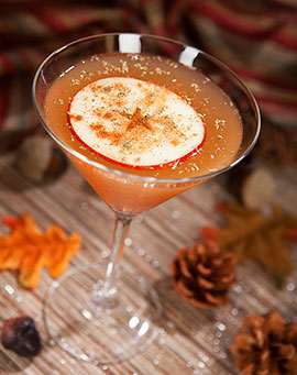 slice of fall cocktail
