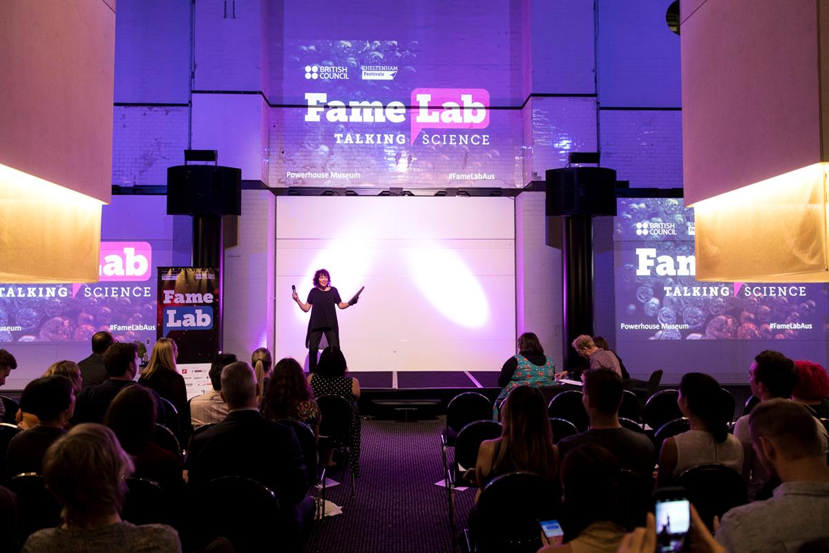 FameLab semi-finals 2018