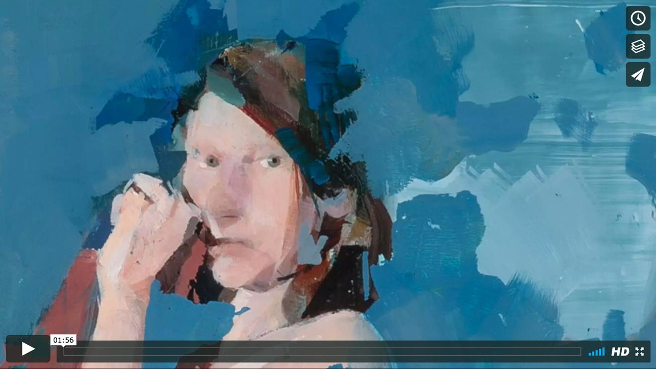 PLAY VIDEO: Alex Kanevesky Meditations On Some Colors - Blue