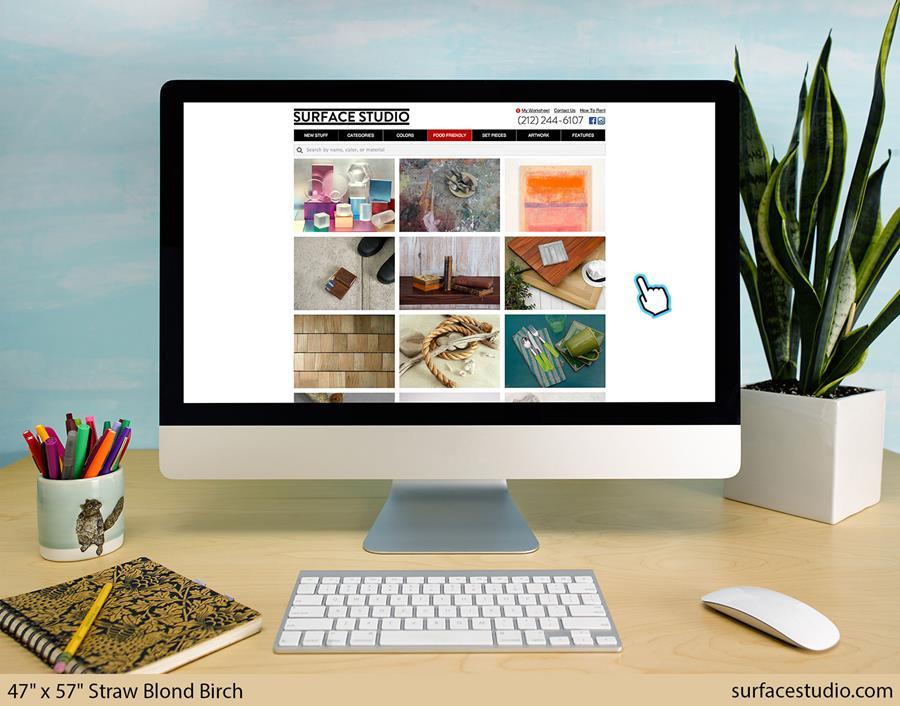 Surface Studio featuring Straw Blond Birch