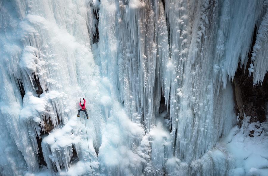 Ice Climbing shot