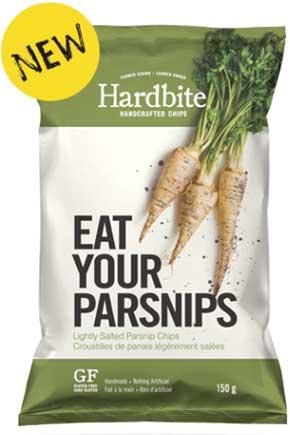 Hardbite Parsnip chips
