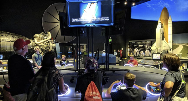 Moving Beyond Earth Exhibts at Smithsonian National Air and SpaceMuseum