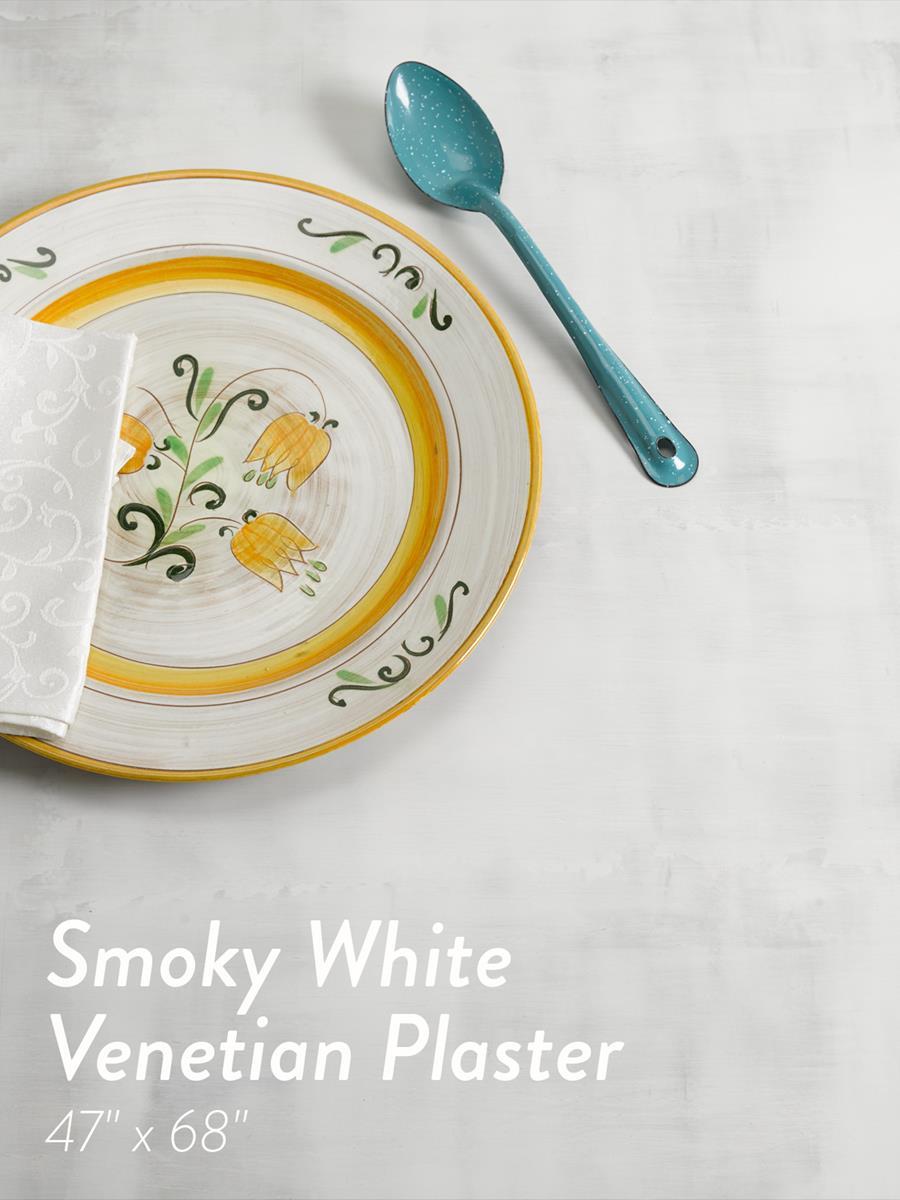 New Surfaces - Smoky White Venetian Plaster
