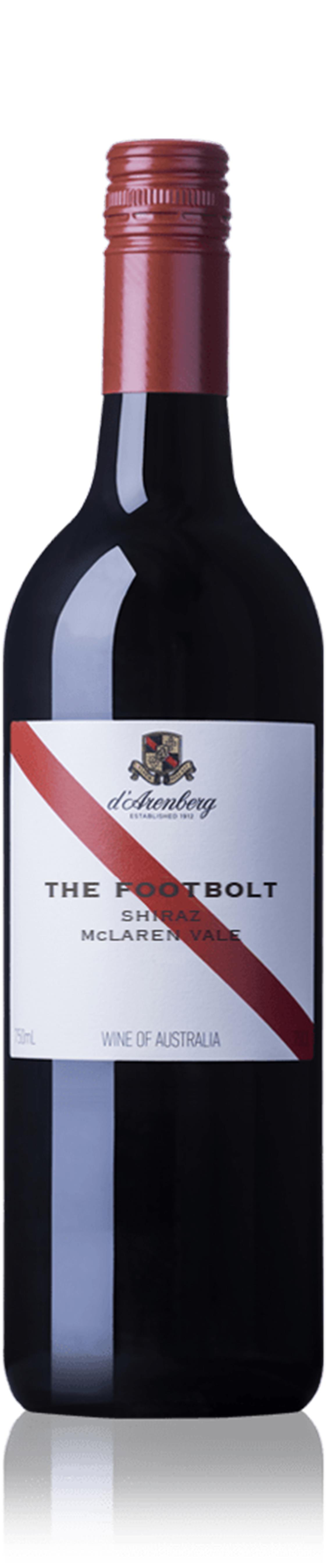 d'Arenberg The Footbolt Shiraz, 2014