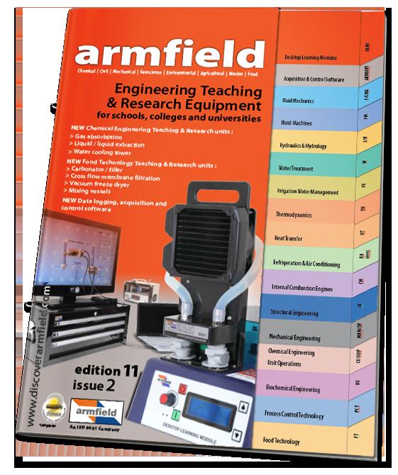 Armfield Engineering Teaching & Research equipment