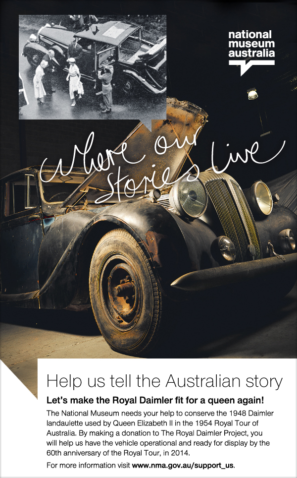 Help us tell the Australian story.