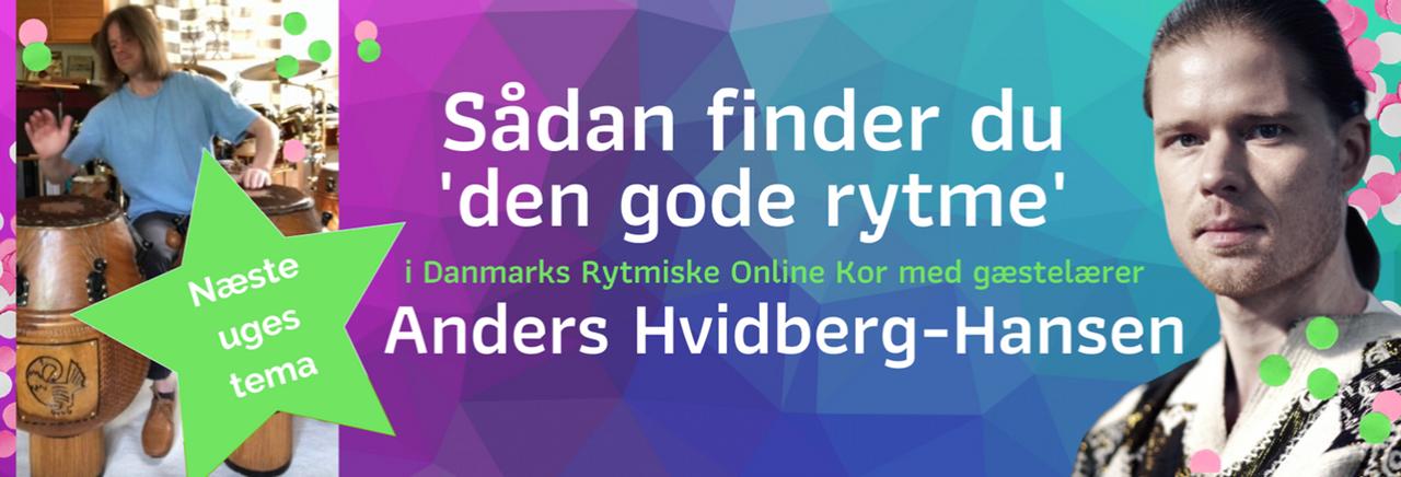 Næste uges masterclass med Anders Hvidberg-Hansen