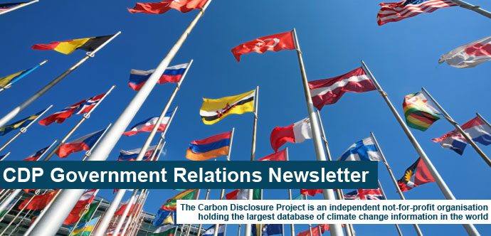 CDP Government Relations Newsletter