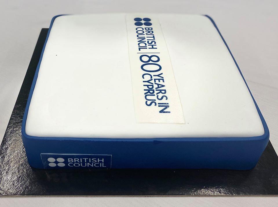 British Council 80th Anniversary cake