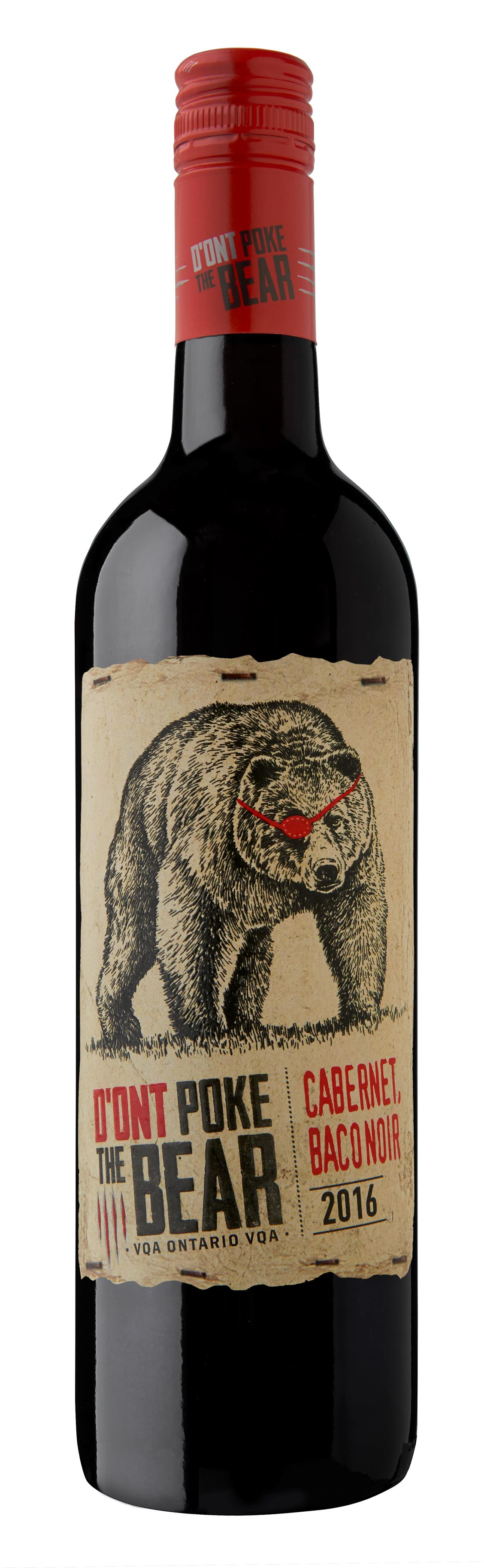 2016 D'Ont Poke The Bear Red VQA