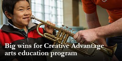 Big wins for Creative Advantage arts education program