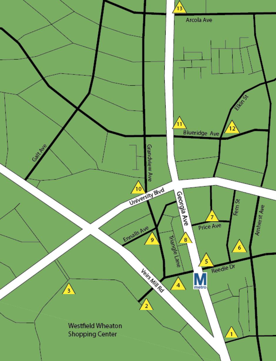 Wheaton Map