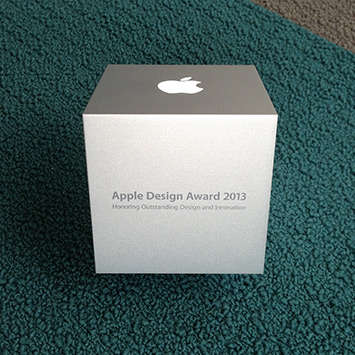 Our Apple Design Award is Pretty