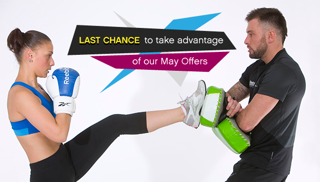 Last Chance to take advantage of our May Offers