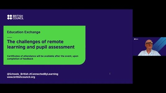 The challenges of remote learning and pupil assessment screenshot