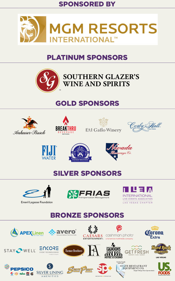 M.E.N.U.S. 2016 Sponsors