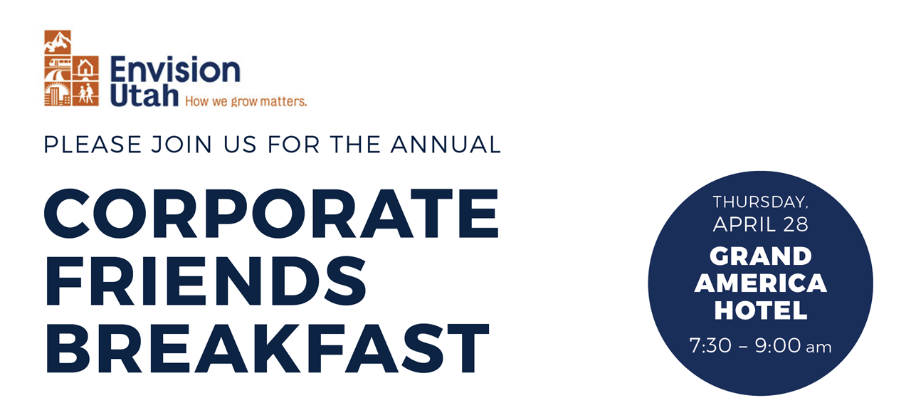 Please join us for the annual Corporate Friends Breakfast