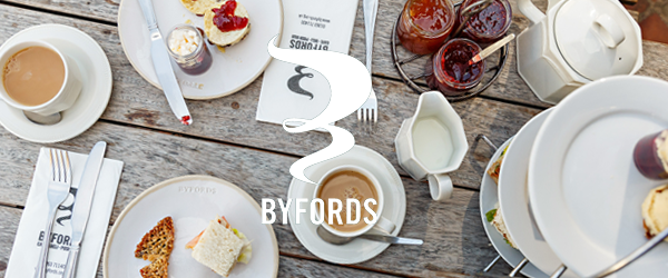 Byfords Afternoon tea