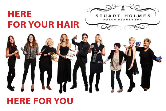 Stuart Holmes - Here for you Hair